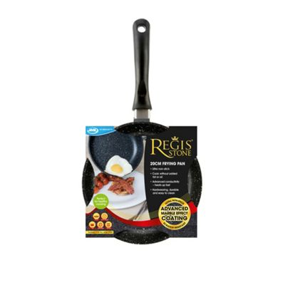 JML Regis Stone Non-Stick Pan with Tough Non-Scratch Coating, No Oil Needed (20cm)