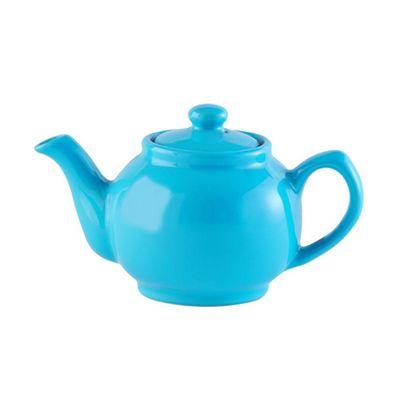 Price & Kensington Brights 6 Cup Stoneware Teapot, (Blue)