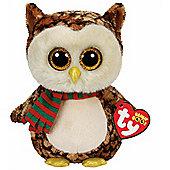 Ty Beanie Boos BUDDY - Wise the Owl 24cm