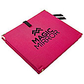 Magic Mirror Travel Mirror - Pink and Black