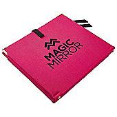 Magic Mirror Travel Mirror - Pink and Black