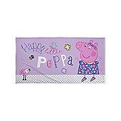 Peppa Pig Happy Beach Towel