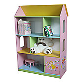 Liberty House Fairy Dollhouse Bookcase with Cupboard
