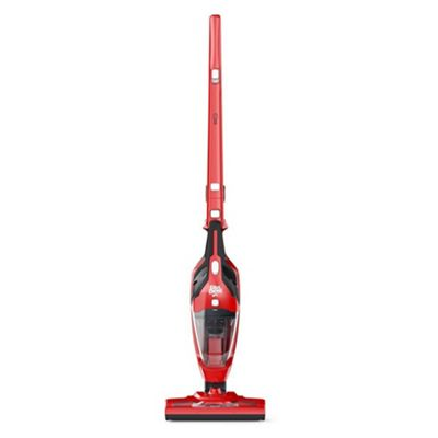 Dirt Devil DDH13 Red Power Combo 2-in-1 Cordless Vacuum Cleaner with 400ml Capacity