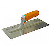 Plasterers Stainless Finishing Trowel Soft Grip Handle 11 x 4 3/4inch