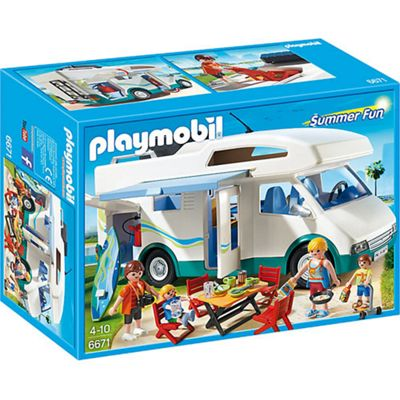 PLAYMOBIL Summer Camper - Summer Fun 6671