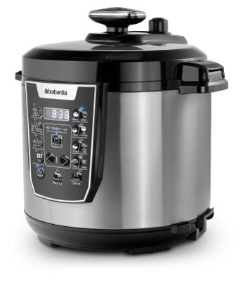 Brabantia 6L 900W Stainless Steel Pressure Cooker