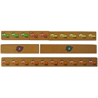 Learning Resources Ants on a Log Jr Cuisenaire Rods