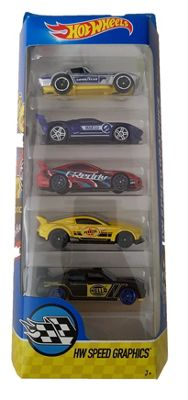 Hot Wheels 5 Pack - HW Speed Graphics