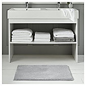 Fox & Ivy Supremely Soft Bathroom Textiles - Silver