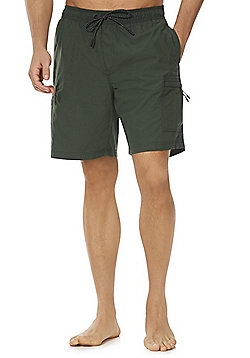 F&F Cargo Swim Shorts - Green