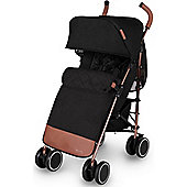 ickle bubba Discovery Max Stroller (Black on Rose Gold)