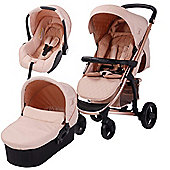 My Babiie Billie Faiers MB200+ Travel System (Rose Gold & Blush)