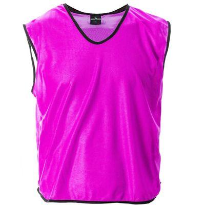 Mesh Football Rugby Sports Training Tank Top Sports Bib Pink - XS/S