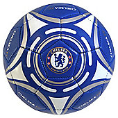 Chelsea FC Star Official Supporter Football Soccer Ball Blue - Size 5