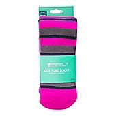 Mountain Warehouse Striped Kids Ski Tubes - 2 Pack - Pink