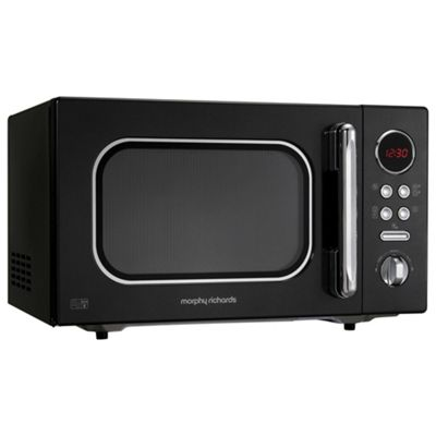 Morphy Richards 511510 Accents 23L Solo Microwave, Black