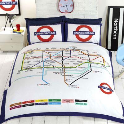 Rapport London Underground Duvet Cover Set - Double