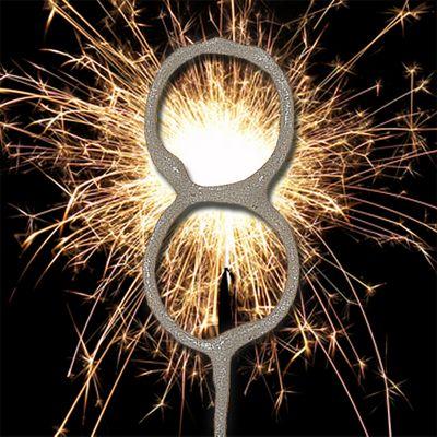 7' Number 8 Sparkler