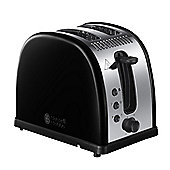 Russell Hobbs 21293 Legacy 2 Slice Toaster - Metallic Black