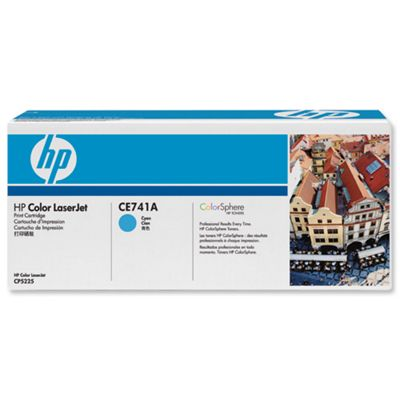 HP Standard Capacity (Yield 7300 Pages) Colour LaserJet Cyan Print Cartridge
