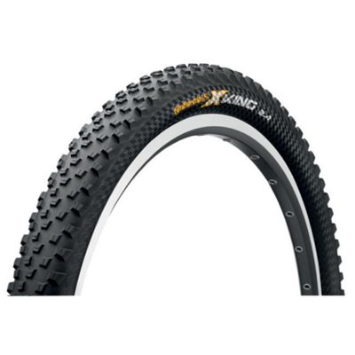 Continental X-King Protection Black Chili Folding Tyre in Black - 26 x 2.2