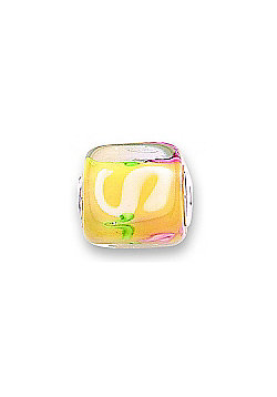 Jo For Girls Dune Glass Slide On Bead