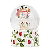 Traditional Mini Snowman Snow Globe