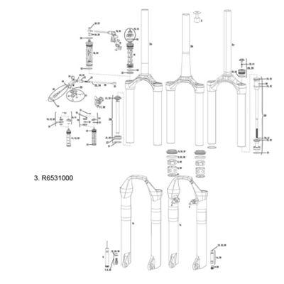 RockShox Expander Plug for SID Carbon Steerer Tube
