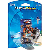 Playmobil Playmo Friends Pirate with Shield 9075