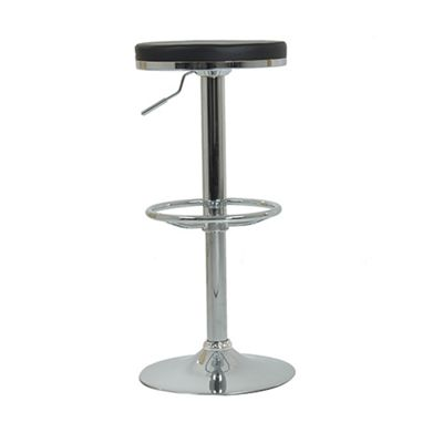 Ice Swivel Bar Stool Black