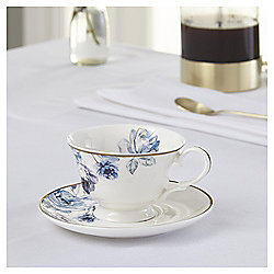 Fox & Ivy Jardin Floral Tea Cup & Saucer