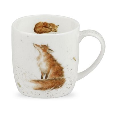 Royal Worcester Wrendale The Artful Poacher Fox Single Mug