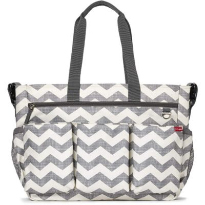 Skip Hop Duo Double Signature Changing Bag (Chevron)