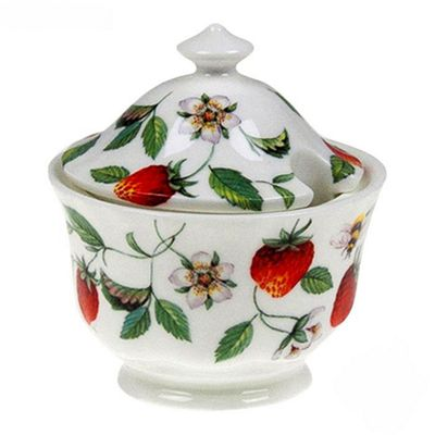 Roy Kirkham Alpine Strawberry Covered Sugar Bowl 0.20L