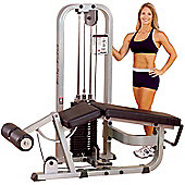 Body-Solid Pro Club Line Leg Curl Machine (210lb Stack)
