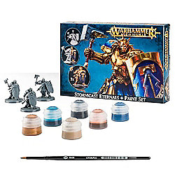 Warhammer Age of Sigmar Stormcast Eternals and Paint Set