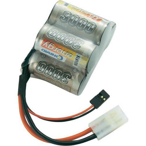 Conrad Energy NiMH 6v 3000mah Hump Pack Jr / Tamiya