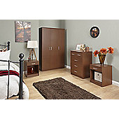 Panama 4 Piece Bedroom Set Walnut
