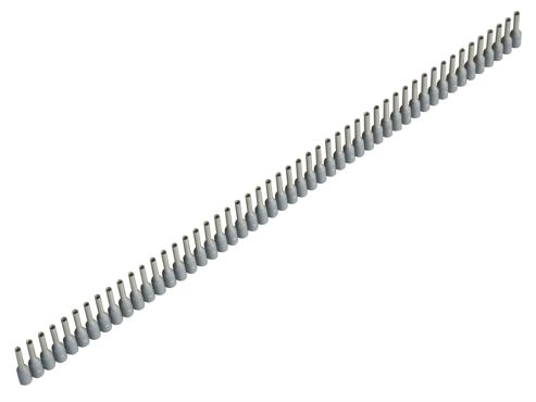 Jokari Wire End Sleeves 0.75 x 8mm Grey 500 Piece