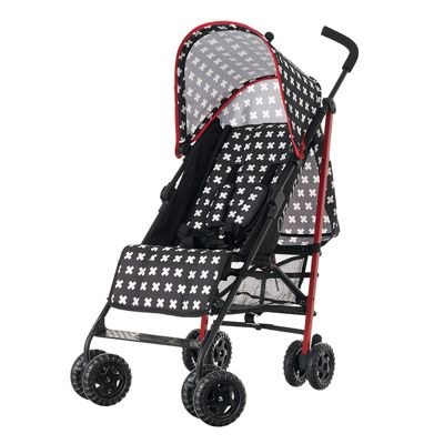 Obaby Atlas Stroller with Safety Mosquito Net and Raincover - Crossfire