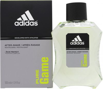 Adidas Pure Game Aftershave 100ml Splash For Men
