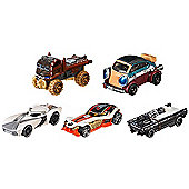 Hot Wheels Star Wars Heroes Of The Resistance 5-Pack