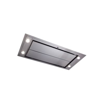 CDA Ceiling Extractor 100Cm Remote Control Stainless Steel