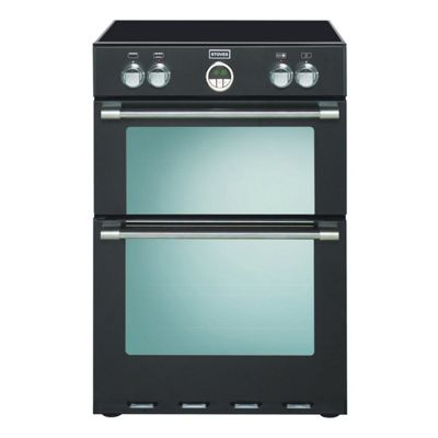 Stoves STER600MFTIBLK 60cm Black Electric Double Oven
