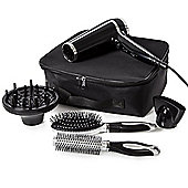Carmen Professional Hair Dryer & Brush Set Black