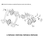 SRAM B-Screw/Limit Screw Kit for Rear Derailleur X9 2011/X9 Type 2 10spd