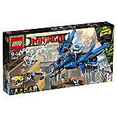 LEGO Ninjago Movie Lightning Jet 70614