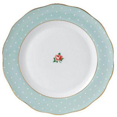 Royal Albert Polka Rose Vintage Dinner Plate 27cm