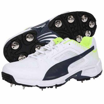 Puma Team Full Spike Cricket Shoes - Size UK 8
